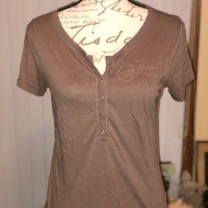 Women's Scoop neck t'shirt